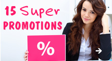 15% super promotion