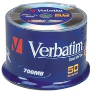 Spindel 50 CD-R 700 MB Verbatim 52x