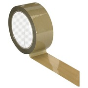 Adhesive tape polypropylene economical havana 48 mm x 66 m
