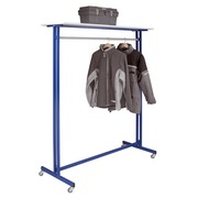 Coat rack blue