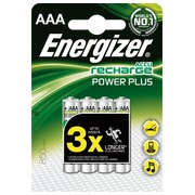 Accu rechargeable AAA - HR3 Energizer - Blister de 4 accus