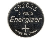 Blister of 2 batteries lithium Energizer CR2025