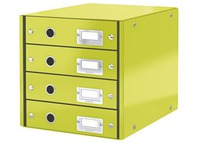 Classification module Leitz Click&Store Wow 4 drawers colour