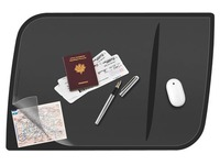 Table-mat with flap Cep confort 66,4 x 44,4 cm black