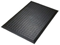 Anti-fatigue comfort desk carpet 54x86 cm