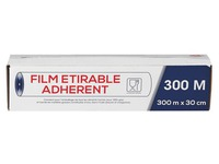 Box with 6 rolls of stretch film 300 m x 30 cm translucent