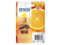 Epson 33XL - XL - yellow - original - ink cartridge
