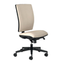 Office chair Bruneau Activ' back and seat fabric - synchronous